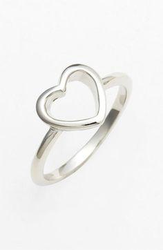 Ariella Collection Symbol Ring Heart