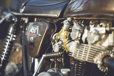 My 1974 Honda CB450 by NathanielS, via Flickr