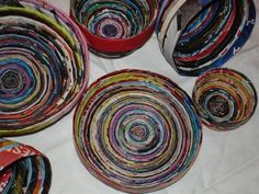 Recycle Paper Bowls