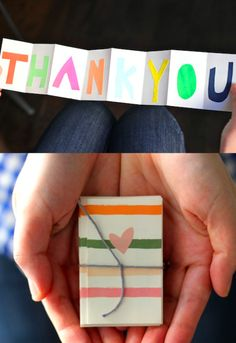 DIY Thank You Greeting Card http://mianchi.in/?p=177