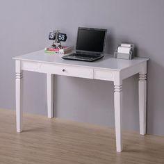 Home Loft Concept Elegant Desk in White