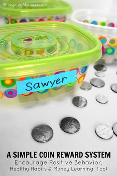 Encouraging Positive Behavior and Healthy Habits Using a SIMPLE Coin Reward System [#sponsored by Listerine] at B-InspiredMama.com #kids #parenting #kbn #binspiredmama