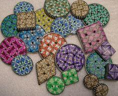 quilt class buttons by Judy Belcher
