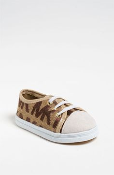 MICHAEL Michael Kors 'Baby Monogram' Crib Shoe (Baby) available at