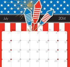 2014 Printable Calendars - iMom
