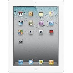 #5: Apple iPad 2 MC979LL/A Tablet (16GB, Wifi, White) 2nd Generation.