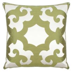 "Bukhara Pillow 24"" - Apple Green from Z Gallerie"
