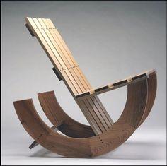 Wood Work Rocking Chair