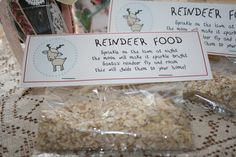 Reindeer Food {easy Christmas craft}! | Cupcakes and Crinoline
