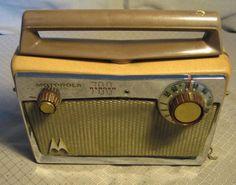 Vintage 5 Tube Motorola 700 Ranger Radio by CrochetWhimsy on Etsy