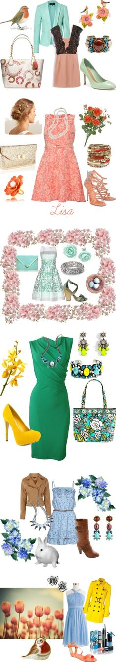 """""""Thinking of Spring"""" by coolmommy44 ❤ liked on Polyvore"""