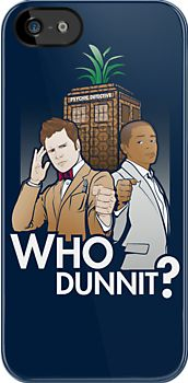 Who Dunnit? by Patrick Scullin Oh. My. Gosh. This is the most hilarious mash up ever! Psych + Doctor Who = Awesome