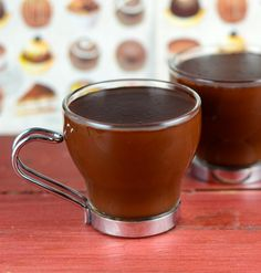 Decadent Vegan Hot chocolate