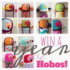 Little Bit Funky: win the best year ever!!! {win a YEAR of hohos and pen & paint and marine parents!!!}