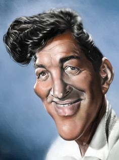 Celebrity Caricatures and Famous People | celebrity caricatures and cartoon drawings of famous people funny ...dean Martin