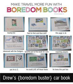 Boredom Books for Travel