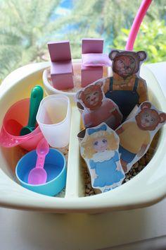 "10 Activity Ideas for Goldilocks & The Three Bears! from Playhood ("",)"