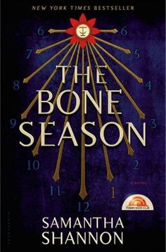 The Bone Season by Samantha Shannon; Paige Mahoney is a 19-year-old clairvoyant whose specialty is dreamwalking; sending her spirit through the atmosphere and into someone else's dreams. It is 2059 and though it's illegal to use her powers, she is helping a criminal syndicate in London when she is captured and sent away to a hidden penal colony. There she is trained to be a weapon and works tirelessly to escape. samantha shannon, 2013, adult book, seasons, bone season, novel samantha, adult fiction, bones, fiction book