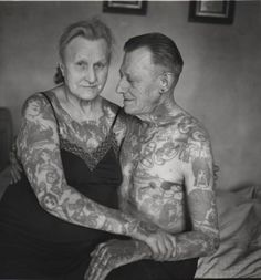 """""""just wait and see what happens when you get old and you're covered in tattoos!""""    this is what happens. nothing. it's the same as it always has been, only you're older now."""
