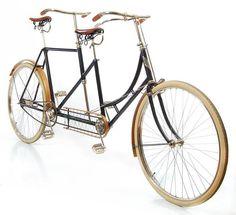 1895 Victor double-steering tandem bike