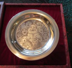 Just in time for the Holidays! What A Gift!!!  Artist: Norman Rockwell  Metal: Solid sterling Silver (925)  Style: Collector Plate Art  weight: 179.5 gram solid sterling silver
