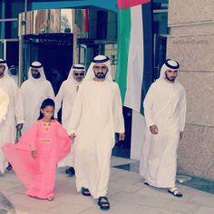 Al Jalila MRM, Mohammed RSM y Majid MRM, Dubai World Cup 2013 Foto: Abdullah Saeed bin Thalith
