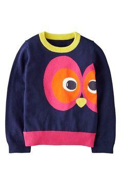 Mini Boden Intarsia Sweater (Toddler Girls, Little Girls & Big Girls) | Nordstrom