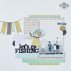 lets go fishing *MAIN KIT ONLY !* by Kelly Noel at Studio Calico