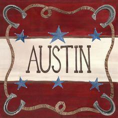 Austin Cowboy Art