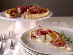 Pear Gorgonzola Tart Recipe : Giada De Laurentiis : Food Network - FoodNetwork.com