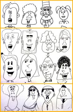 Plastiquem (Use Google Translator - can't pin from it, however). A very fun lesson to teach kids how to develop and draw a cartoon.