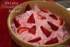 Ladybird Ln: Skinny Strawberry Salad (1 WW point)