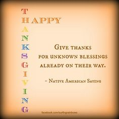Cute Thanksgiving Quote