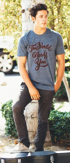 THIS WORLD NEEDS YOU! Inspire others wherever you go... you never know who may need to hear these words today! #Sevenly