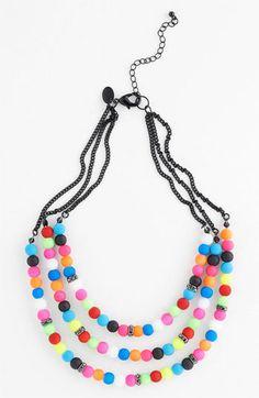 Spring Street Multistrand Necklace