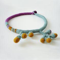 Branch crochet necklace by kjoo on Etsy, $160.00