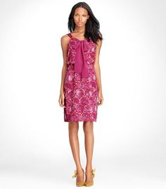 monica dress by Tory Burch. So ready for summer!