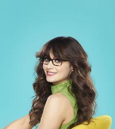 Zooey Deschanel as Jess in NEW GIRL on FOX.