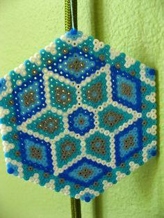 Geometric design hama beads by oklyous' creative world