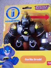 NEW Batman justice league Fisher Price Imaginext Figure GORILLA GRODD RARE