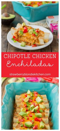 Chipotle Chicken Enc