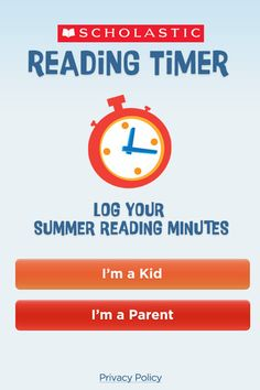 Scholastic Reading Timer ($0.00) promotes reading practice by encouraging reading every day and most importantly, makes it fun! Use the Scholastic Reading Timer in two ways: in conjunction with the Scholastic Summer Challenge, where kids are given weekly reading goals and log their reading minutes to win virtual rewards, or as a fun and functional reading timer to use throughout the year.TIME AND LOG READING MINUTES WITH AN INTERACTIVE STOPWATCH