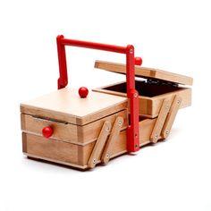 sewing box | hedgehog