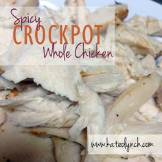 spici crockpot, foods, crock pots, garlic, crockpot recipes