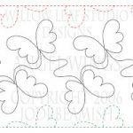 I love Jodi's Pantographs butterfli, pattern