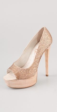 alice + olivia Crystal Platform Pumps   # Pin++ for Pinterest #