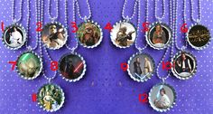 Star Wars party bottle cap necklace Party Favor pack (6) / contact me for other quantities needed. $12.00, via Etsy.