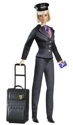 Airline Pilot Barbie