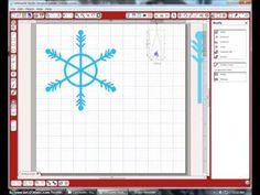 silhouett cameo, amaz snowflak, daniela dobson, studio snowflak, snowflakes