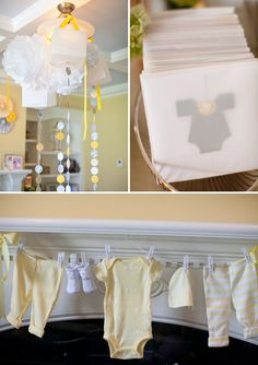 Ideas para un baby shower muy tierno / Sweet baby shower ideas